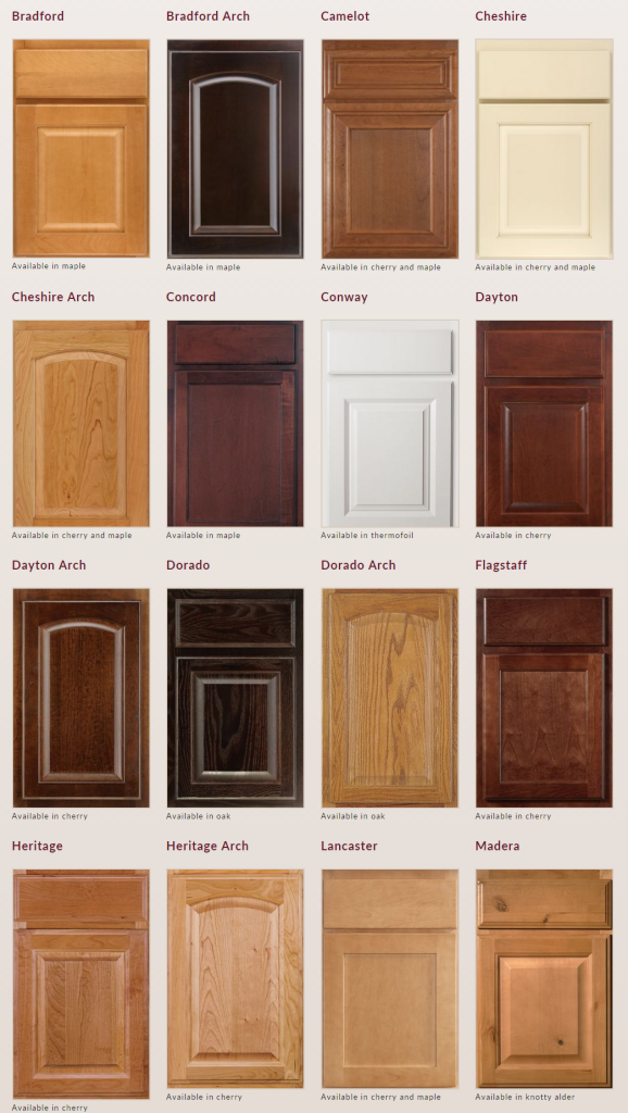 Door Styles - Envision Cabinetry = Affordable Kitchen Cabinets AZ